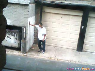 Keppimine a prostituut sisse an alley