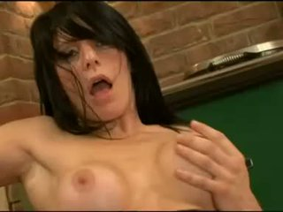 Filthy beautiful Daisy Rock pleads for some fresh cumshot on her firm titties