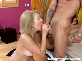 Cock Loving Bitch Erica Lauren Rips Her Sweet Mouth With An Astonishing Unbending Cock