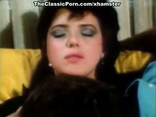 Christy canyon, zaķis bleu, blondi uz vintāža sekss aina