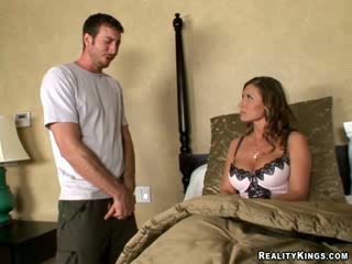Accidentally fucked my friend's bigtit Mother