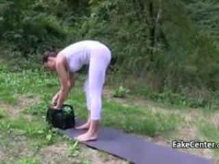 הזונה got כסף ל להיות מזוין ו - creampied outdoors