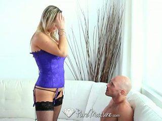 pa blowjob, big tits, mature Mainit