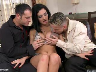 hardcore sex, dobbel penetrasjon, gruppe sex