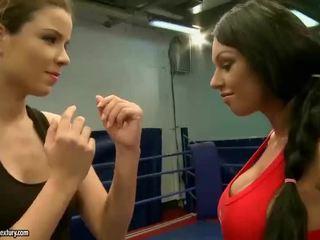 uita-te brunetă mare, hq lesbiană cea mai tare, toate lupta lesbiene mare
