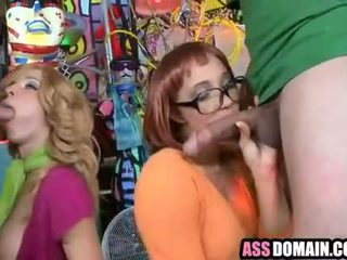 Scooby Doo parody booties Jada Stevens and Kelly Welch_1.6