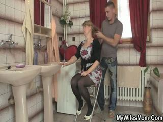 Mother In Laws Bangs Son
