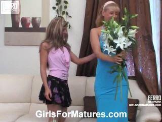 Bridget en sheila meisje op meisje mama in actie