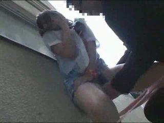 Giapponese studentessa scopata fuori video