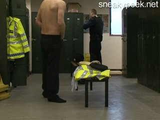 Rookie Cop Caught Naked!
