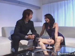Chris ozawa bangs a ホット 日本語 ふしだらな女