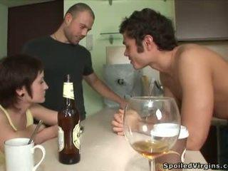 dronken, pijpbeurt, ontnemeheid kuisheid