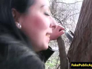 Tšehhi beib cumswallows fake agents spunk, porno 77
