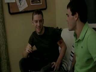 Sebastian Keys And Leon Knight In Knight's Stick