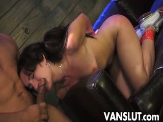Evelyn spanked un fucked