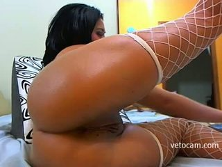 Sexy latina solo action in pribadi web kamera show