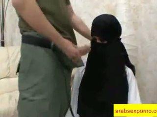 dziewczyna, seks, arab
