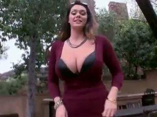 Alison tyler - 巨大 自然 奶 得到 性交