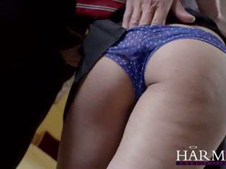 Harmony Vision: Schoolgirl coco del mal banged hard