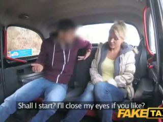Fake Taxi Milf Rides Czech Cock for Free Ride