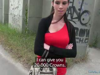 सेक्सी isabelle sucks और fucks के लिए कॅश