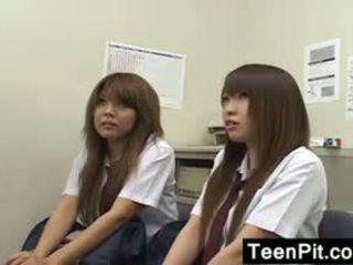 college, japanese, blowjob