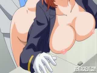 Hentai gaja gets um porca enema
