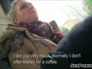 Groot tieten euro honing adele fucks voor cash