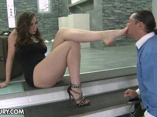 suu kinnismõte, sexy jalad, footjob