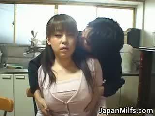 japonijos, big boobs, analinis