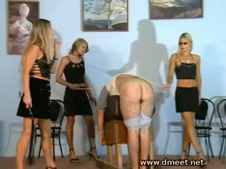 3 cruel mistresses whipping