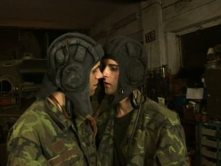 Big Shlong Fucking Soldiers Ass