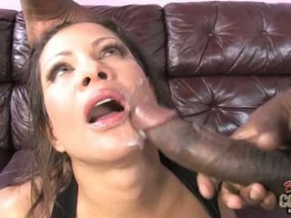cumshots, big tits, interracial