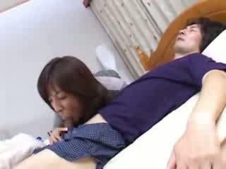 日本の, ベッド, ママ