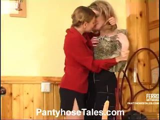 Hot Pantyhose Tales Movie Starring Gloria, Ninette, Nicholas