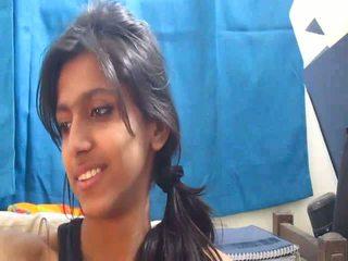 Non-nude terhangat warga india sekolah gadis pada webcam - desibate*