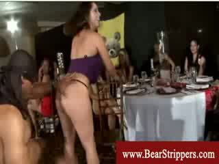 Cfnm hot strippers boner fun
