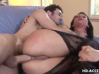 Seksuālā sieviete victoria sinn fucked iekšā the pakaļa