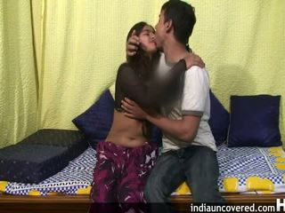 Amateur indian teen in her first sex scene
