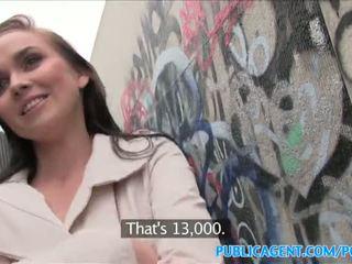 Publicagent caliente nena fucks stranger en alleyway - porno vídeo 961