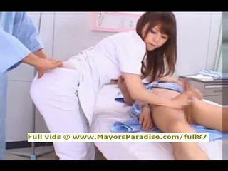 Akiho yoshizawa від idol69 зіпсована азіатська медсестра likes для зробити мінет
