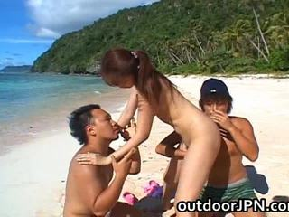 Asami ogawa এশিয়ান playgirl receives bang