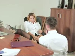 Văn phòng bé anna polina banged thực tốt