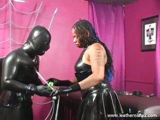 Latex Fetish Black Woman