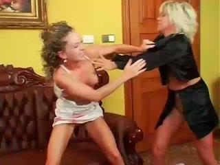 女同性戀, 女同志打架, muffdiving