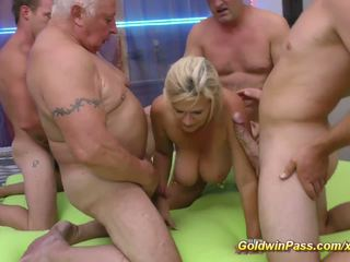 Gangbang with Extreme Pierced MILF, Free Porn 30