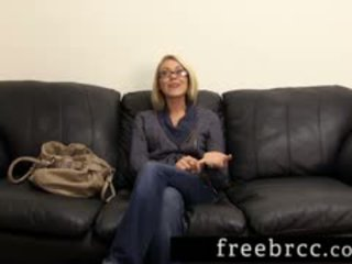 Beautiful Blonde Humiliated During Backroom Audition