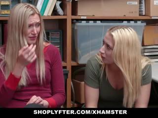 Shoplyfter - Daughter Fucks Cop for Moms Freedom: Porn fe