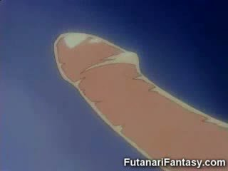 Futanari hentai strip shemale anime manga tranny tekenfilm animatie lul piemel transexual gek dickgirl harmafrodiet fant