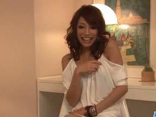 Aya Sakuraba Amazes with Her Blowjob and Tight Pussy.